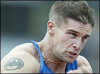 Australian 400m star Daniel Batman