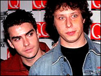 Kelly Jones and Stuart Cable