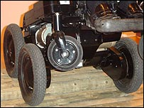 The iBot wheelchair