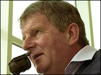 Match of the Day commentator John Motson