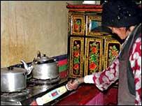 Kitchen in China