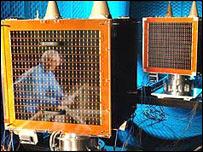 Satellites from Nigeria and the UK undergo testing (Photo: RAL)