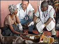 сотрудники Красного Креста