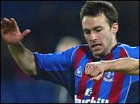 Crystal Palace striker Dougie Freedman