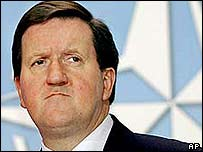 Nato Secretary-General Lord Robertson