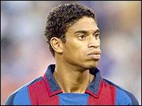 Barcelona defender Michael Reiziger