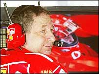 Ferrari boss Jean Todt