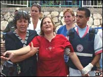 The mother of the 16-year-old boy killed in Shlomi is taken from the scene where a shell landed