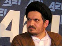 Hossein Khomeini, grandson of the late Ayatollah Khomeini