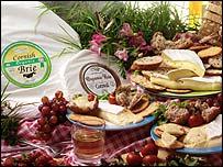 Cornish Organic brie