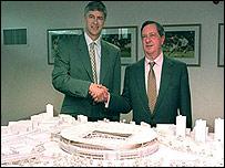 Maqueta de nuevo estadio del Arsenal