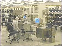 Atmel factory