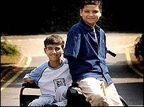 Ahmed Mohammed Hamza and Ali Abbas