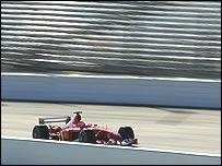 Michael Schumacher, G. P. de EE.UU.