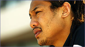All Black centre Tana Umaga