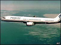 A Boeing 757