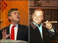 Gordon Brown and Del Boy