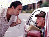 Victor Meldrew and pal
