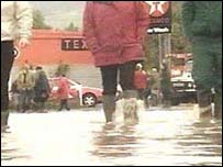 Ruthin floods