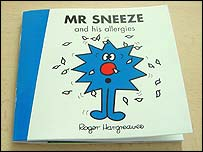 Mr Sneeze and his allergies