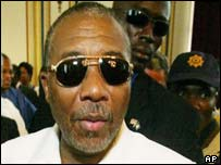 Liberian ex-President Charles Taylor