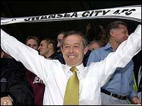 Swansea manager Brian Flynn