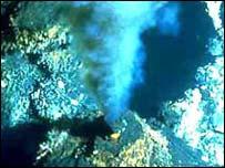 Hydrothermal vent, bbc