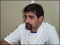 Fernando Frontán, activista de Diversidad Uruguay