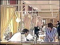 Ward scene