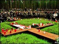 Katyn massacre site