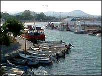 Faliraki harbour