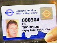 Minicab license