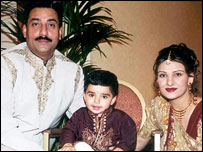 Amarjit Chohan and his family