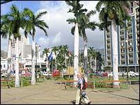 Port Louis street scene