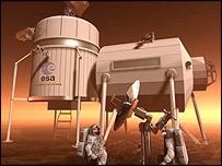 Mars mission, Esa