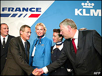 KLM and Air France shake on the deal