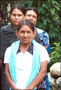 Mujeres en la comunidad cafetera en San Juan Bosco de Chuxnab�n, Oaxaca