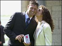 Niall Quinn and wife Gillian