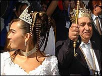 Ana-Maria Cioaba and father Florin