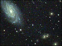 Galaxy in serpens (Alan Heavens/Edinburgh University)