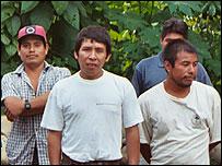 Comunidad cafetera en San Juan Bosco, Oaxaca