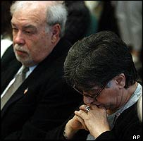 Terri Schiavo's parents Robert and Mary Schindler