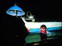 Seahorse fisherman   A Vincent