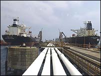 Ceyhan oil terminal used to export Iraqi oil