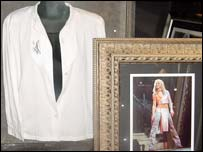 The top worn by Britney Spears in her Baby One More Time video