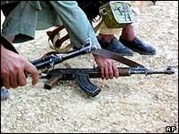 Afghan gunmen (archive)