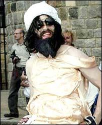 'Comedy terrorist' Aaron Barschak