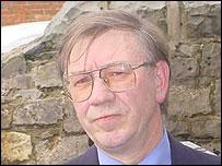 Plaid Cymru councillor Elwyn Edwards