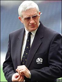 Scotland's director of rugby Jim Telfer