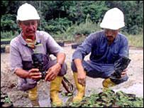 Operarios de BP en Colombia, gentileza BP